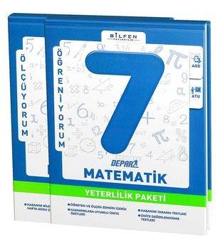 Bilfen Yayınları 7. Sınıf Matematik Depar Yeterlilik Paketi