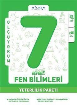 Bilfen Yayınları 7. Sınıf Fen Bilimleri Depar Yeterlilik Paketi