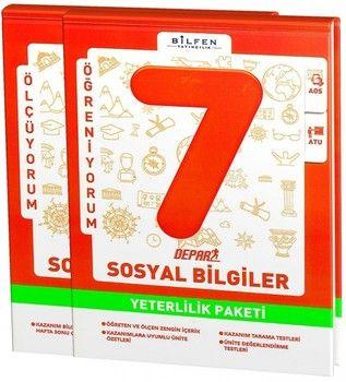 Bilfen Yayınları 7. Sınıf Sosyal Bilgiler Depar Yeterlilik Paketi