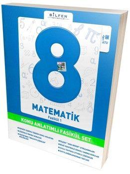 Bilfen Yayınları 8. Sınıf Matematik Konu Anlatımlı Fasikül Set