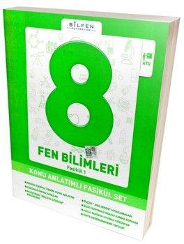 Bilfen Yayınları 8. Sınıf Fen Bilimleri Konu Anlatımlı Fasikül Set