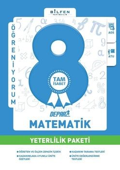 Bilfen Yayınları 8. Sınıf Matematik Depar Yeterlilik Paketi
