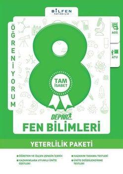 Bilfen Yayınları 8. Sınıf Fen Bilimleri Depar Yeterlilik Paketi