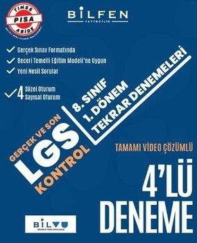 Bilfen Yayınları 8. SınıfLGS1. Dönem 4lü Tekrar Denemeleri