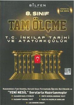 Bilfen Yayınları 8. Sınıf T.C. İnkılap Tarihi ve Atatürkçülük Tam Ölçme