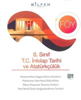 Bilfen Yayınları 8. Sınıf T.C. İnkılap Tarihi ve Atatürkçülük Föy