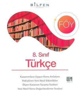 Bilfen Yayınları 8. Sınıf Türkçe Föy
