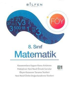 Bilfen Yayınları 8. Sınıf Matematik Föy