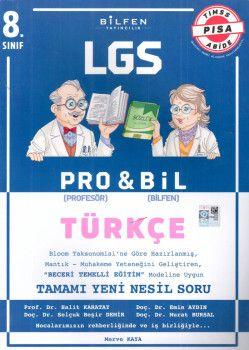 Bilfen Yayınları 8. Sınıf LGS Türkçe PROBİL Soru Bankası