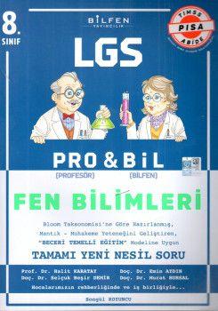 Bilfen Yayınları 8. Sınıf LGS Fen Bilimleri PROBİL Soru Bankası