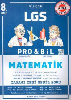 Bilfen Yayınları 8. Sınıf LGS Matematik PROBİL Soru Bankası