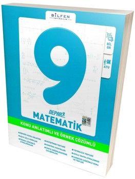 Bilfen Yayınları 9. Sınıf Matematik Depar Konu Anlatımlı ve Örnek Çözümlü