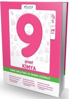 Bilfen Yayınları 9. Sınıf Kimya Depar Konu Anlatımlı ve Örnek Çözümlü
