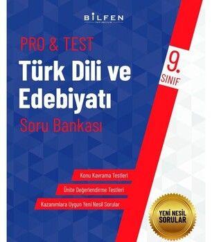Bilfen Yayınları 9. Sınıf Türk Dili ve Edebiyatı ProTest Soru Bankası