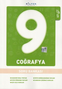 Bilfen Yayınları 9. Sınıf Coğrafya Soru Bankası