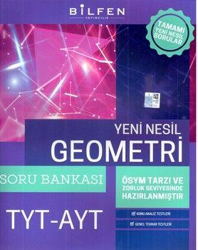 Bilfen Yayınları TYT AYT Geometri Soru Bankası