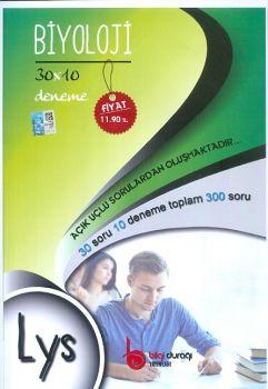 Bilgi Durağı LYS Biyoloji 30x10 Deneme