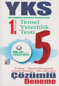 Bilgi Hazinesi Yayınları YKS 1. Oturum TYT Çözümlü 5 Deneme