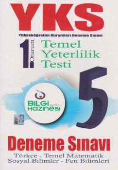 Bilgi Hazinesi Yayınları YKS 1. Oturum TYT 5 Deneme Sınavı
