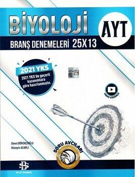 Bilgi Sarmal 2021 AYT Biyoloji 25 x 13 Denemeleri