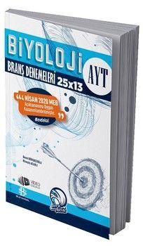 Bilgi Sarmal AYT Biyoloji 25 x 13 Evdekal Özel Branş Denemeleri