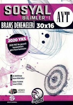 Bilgi Sarmal AYT Sosyal Bilimler 1 30 x 16 Branş Denemeleri