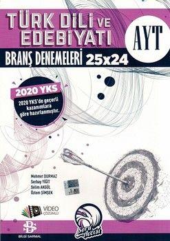 Bilgi Sarmal AYT Türk Dili ve Edebiyatı 25 x 24 Branş Denemeleri