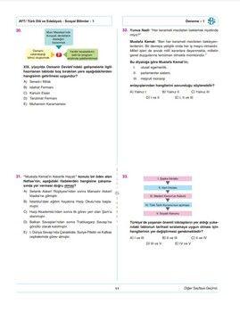 Bilgi Sarmal TYT AYT Eşit Ağırlık 5+1 Sarmal Deneme