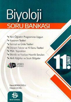 Bilgi Sarmal Yayınları 11. Sınıf Biyoloji Soru Bankası