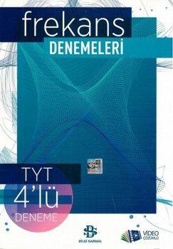 Bilgi Sarmal Yayınları TYT Frekans 4lü Denemeleri