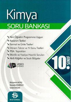 Bilgi Sarmal Yayınları 10. Sınıf Kimya Soru Bankası