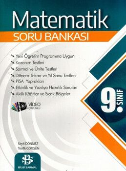 Bilgi Sarmal Yayınları 9. Sınıf Matematik Soru Bankası