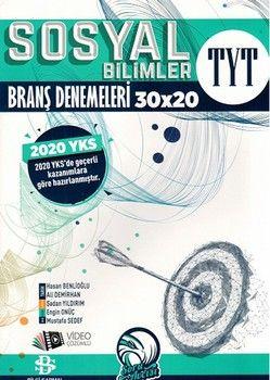 Bilgi Sarmal Yayınları TYT Sosyal Bilimler Branş Denemeleri