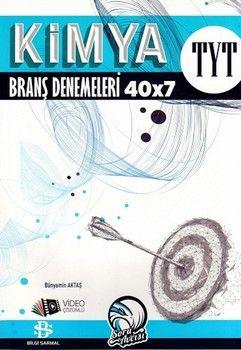 Bilgi Sarmal Yayınları TYT Kimya 40 x 7 Denemeleri