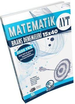 Bilgi Sarmal Yayınları AYT Matematik 15 x 40 Branş Denemeleri
