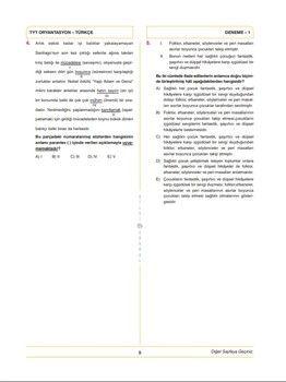 Bilgi Sarmal Yayınları TYT Etaplı 4 Denemesi