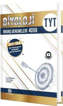 Bilgi Sarmal Yayınları TYT Biyoloji 40 x 6 Branş Denemeleri