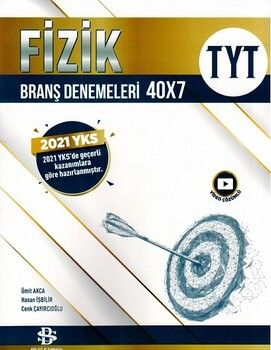 Bilgi Sarmal Yayınları TYT Fizik 40 x 7 Branş Denemeleri
