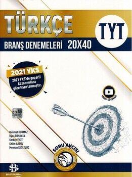 Bilgi Sarmal Yayınları TYT Türkçe 20 x 40 Branş Denemeleri