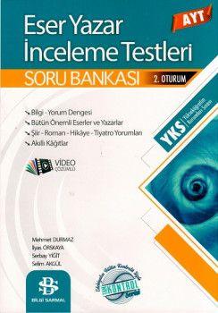 Bilgi Sarmal Yayınları AYT Eser Yazar İnceleme Testleri Soru Bankası