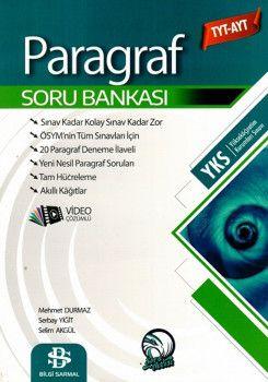 Bilgi Sarmal Yayınları TYT AYT Paragraf Soru Bankası