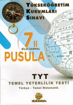 Bilgi Sarmal YKS 1. Oturum TYT Türkçe Temel Matematik Pusula 7 Deneme