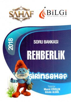 Bilgi Yayınları 2018 Eğitim Bilimleri Şirinsahaf Rehberlik Soru Bankası