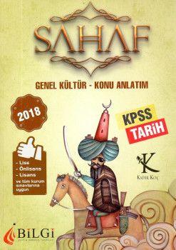 Bilgi Yayınları 2018 KPSS Lise Önlisans Lisans ve Tüm Kurum Sınavları İçin Genel Kültür Tarih Konu Anlatım