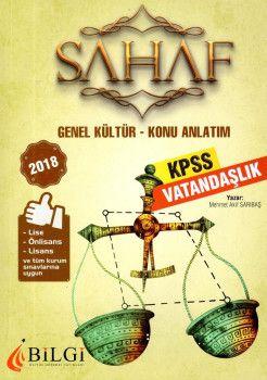 Bilgi Yayınları 2018 KPSS Lise Önlisans Lisans ve Tüm Kurum Sınavları İçinGenel Kültür Vatandaşlık Konu Anlatım