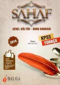Bilgi Yayınları 2018 KPSS Lise Önlisans Lisans ve Tüm Kurum Sınavları İçinGenel Kültür Türkçe Soru Bankası