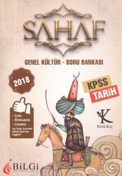 Bilgi Yayınları 2018 KPSS Lise Önlisans Lisans ve Tüm Kurum Sınavları İçinGenel Kültür Tarih Soru Bankası