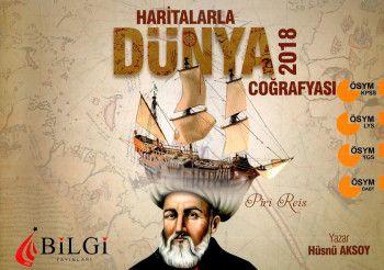 Bilgi Yayınları 2018 KPSS LYS YGS ÖABT Haritalarla Türkiye Coğrafyası