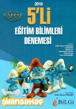 Bilgi Yayınları 2018 Eğitim Bilimleri 5 li Denemesi