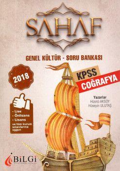 Bilgi Yayınları 2018 KPSS Lise Önlisans Lisans ve Tüm Kurum Sınavları İçinGenel Kültür Coğrafya Soru Bankası